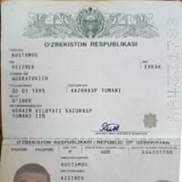 Rustamov Azizbek Qudratovich