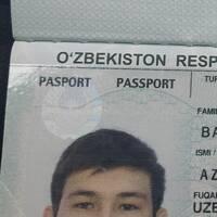 Bahtiyorhojaev Azamat Davron ugli